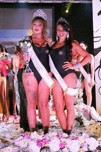 Miss Trans CAMPANIA 2015 e 2014 - Asia e Patrizia