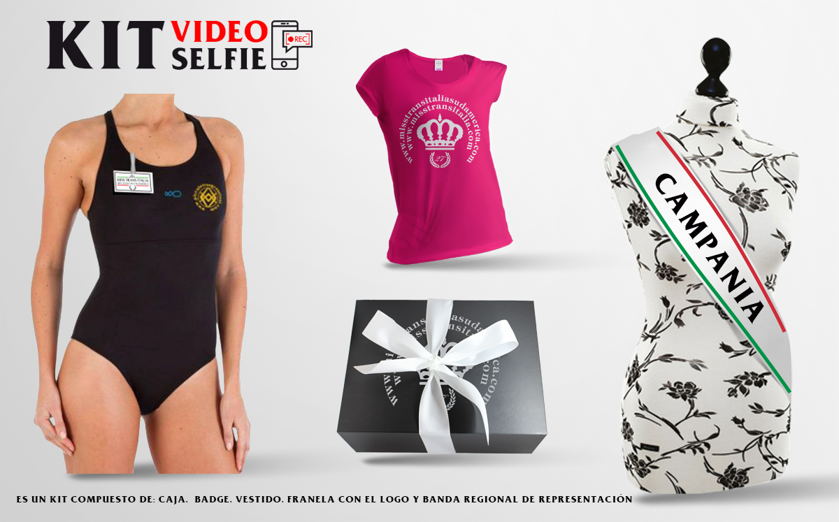 kit video selfie spagnolo campania