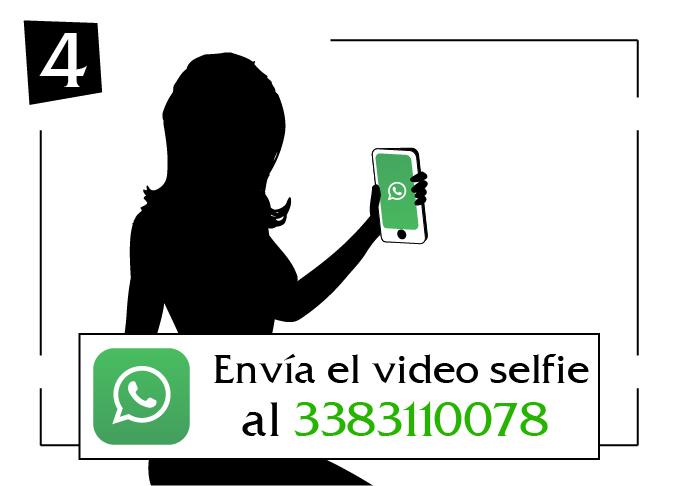 envia el video selfie Campania al