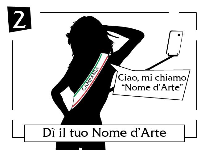 Di il tuo nome d'arte Campania